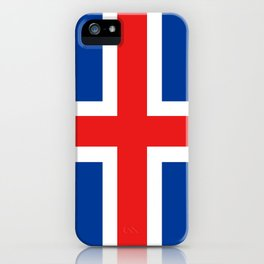 Flag of Iceland iPhone Case