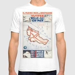 Vintage poster - Belle ile en Mer T-shirt