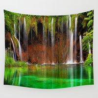oregon Wall Tapestries featuring Oregon Shower by Robin Curtiss