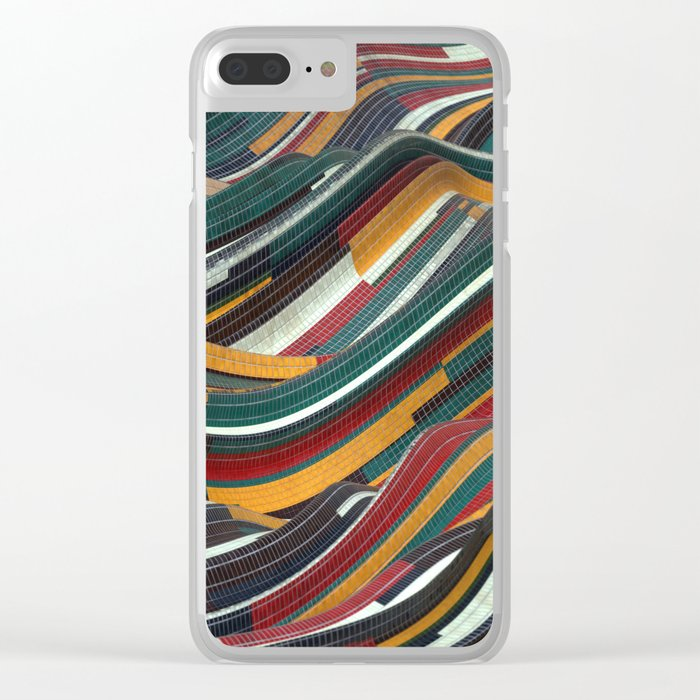 Tiles Days Clear iPhone Case