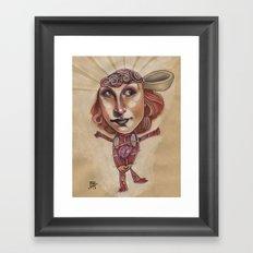THE GOOD IDEA Framed Art Print