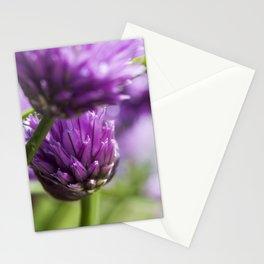 Wild purple wild flowers Stationery Cards