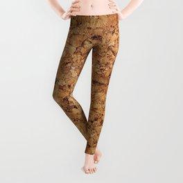 Cork pattern Leggings