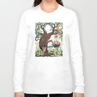 jungle Long Sleeve T-shirts featuring JUNGLE by GEEKY CREATOR