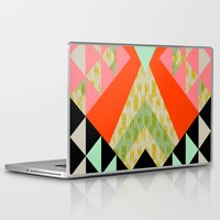 quilt Laptop & iPad Skins featuring Arrow Quilt by Pattern State