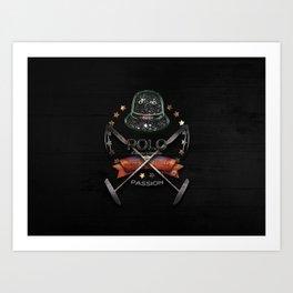 polo black label Art Print