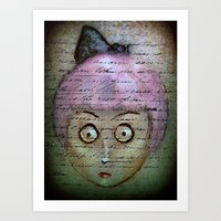 writer Art Prints featuring Ghost Writer by Terrestre