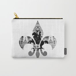 Jackson Squared - fleur de lis Carry-All Pouch