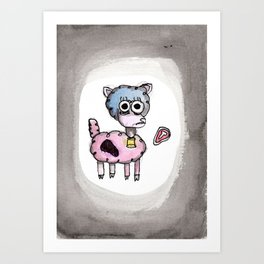 Lisa, I Thought You Loved Me Art Print