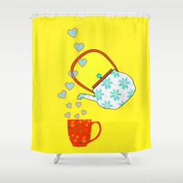 A Nice Cup Of Tea - Beverage Shower Curtain