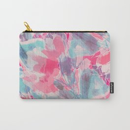 Peach Willows Carry-All Pouch