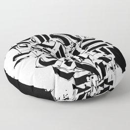 CALLIGRAPHY N°3 ZV Floor Pillow