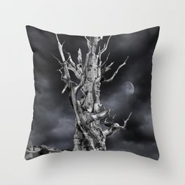 The ghost of Pinus longaeva 2. Throw Pillow