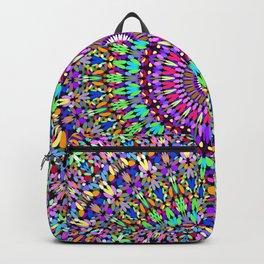 Colorful Love Mandala Backpack