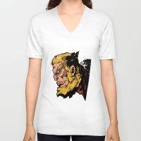 xmen V-neck T-shirts featuring x22 by jason st paul