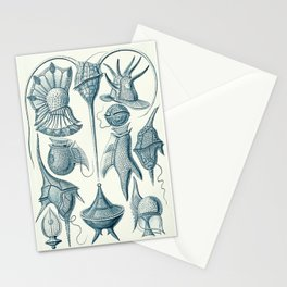 Ernst Haeckel Peridinea Plankton Stationery Cards
