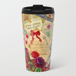 Vintage Love Letters Travel Mug