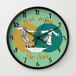 Spooky Swing Wall Clock