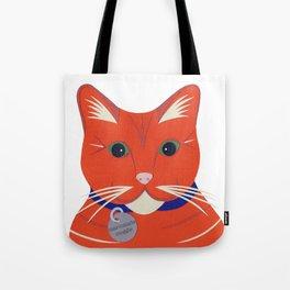Cute Ginger Cat Tote Bag