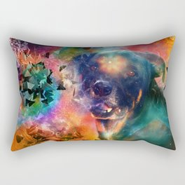 Canine Consciousness Rectangular Pillow