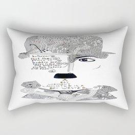 C. Chaplin Rectangular Pillow