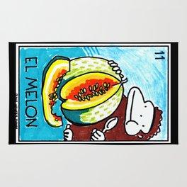 Loteria Ape #11: El Melon Rug