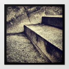 'SIMPLE STEPS' Canvas Print