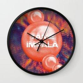 Tame Impala Poster 4 Wall Clock