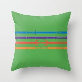 TMNT Throw Pillow