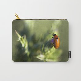 Red Bug Carry-All Pouch