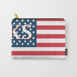 Kansa American Flag Carry-All Pouch