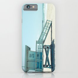 Hermosa Beach Lifeguard Tower 19 iPhone Case