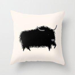 The Yak Throw Pillow