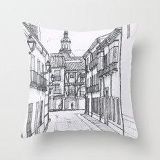 Alcala street #2 Throw Pillow