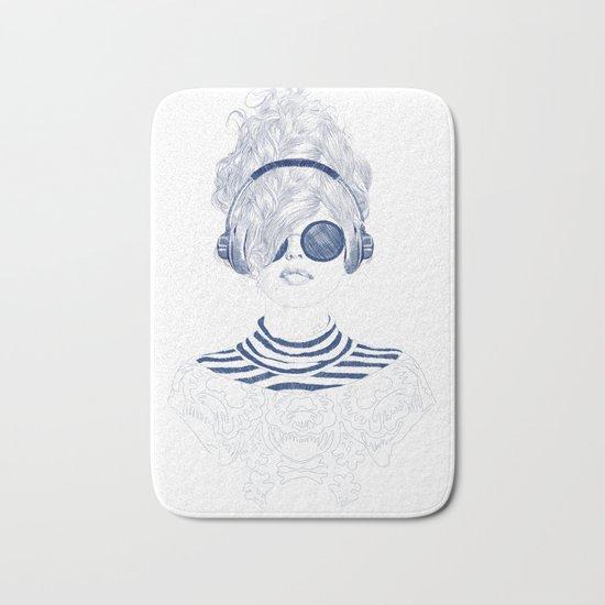 Groove Baby Bath Mat