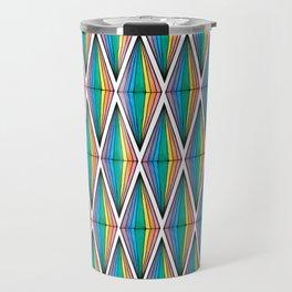 Rainbow Plumbobs Travel Mug