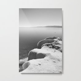 Highlight ice Metal Print