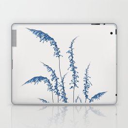 Blue flowers 2 Laptop & iPad Skin