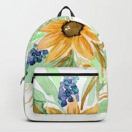 Golden daisies Backpack