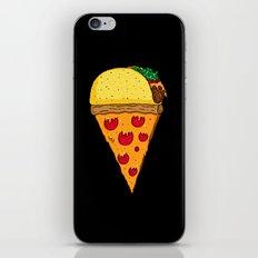 Taco Pizza Cone iPhone & iPod Skin