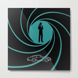 James DB5 Metal Print