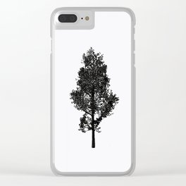Magic Trees Clear iPhone Case