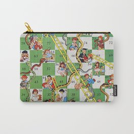 Vintage snakes and ladders Carry-All Pouch
