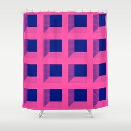 Third Dimension Shower Curtain