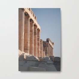 Sunrise at Acropolis | Travel Athens Greece photography | Bright colored Art Print Metal Print