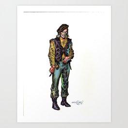 Melegal  Art Print