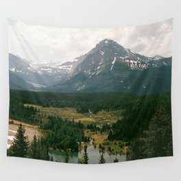 Rocky Mountains Canada Wall Tapestry