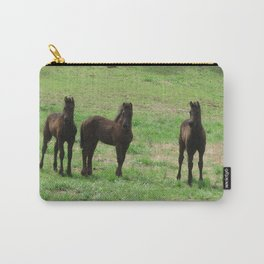 Friesian Foals Carry-All Pouch