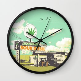 SOUR DIESEL Wall Clock