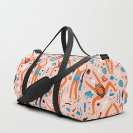 Swimmers in pink Duffle Bag